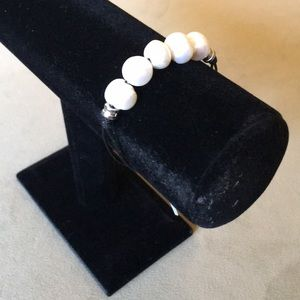 Jewelry - Pearl and Cord Bracelet